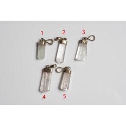 Aquamarine pendants -...