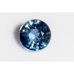 Blue sapphire 4mm heated only