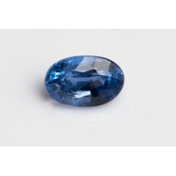 Blue heated only sapphire...