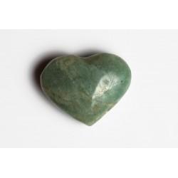Amazonite heart 25x31mm